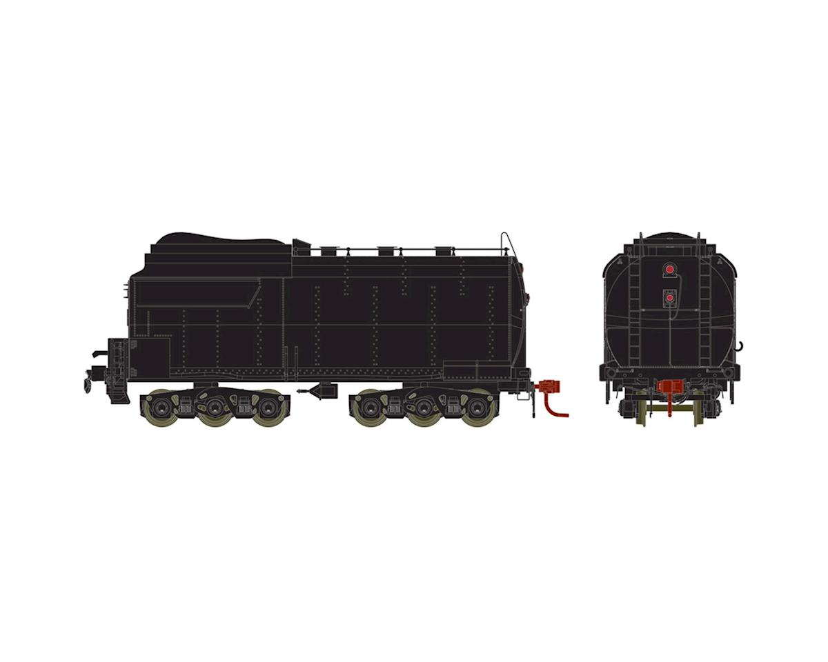 Athearn HO 4-6-6-4 Tender Coal, UP/Early/Black/Unlettered