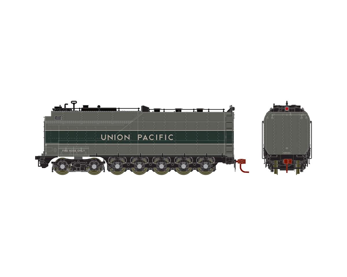 Athearn HO Steam Tender Oil, UP/Two-Tone Grey/Silver