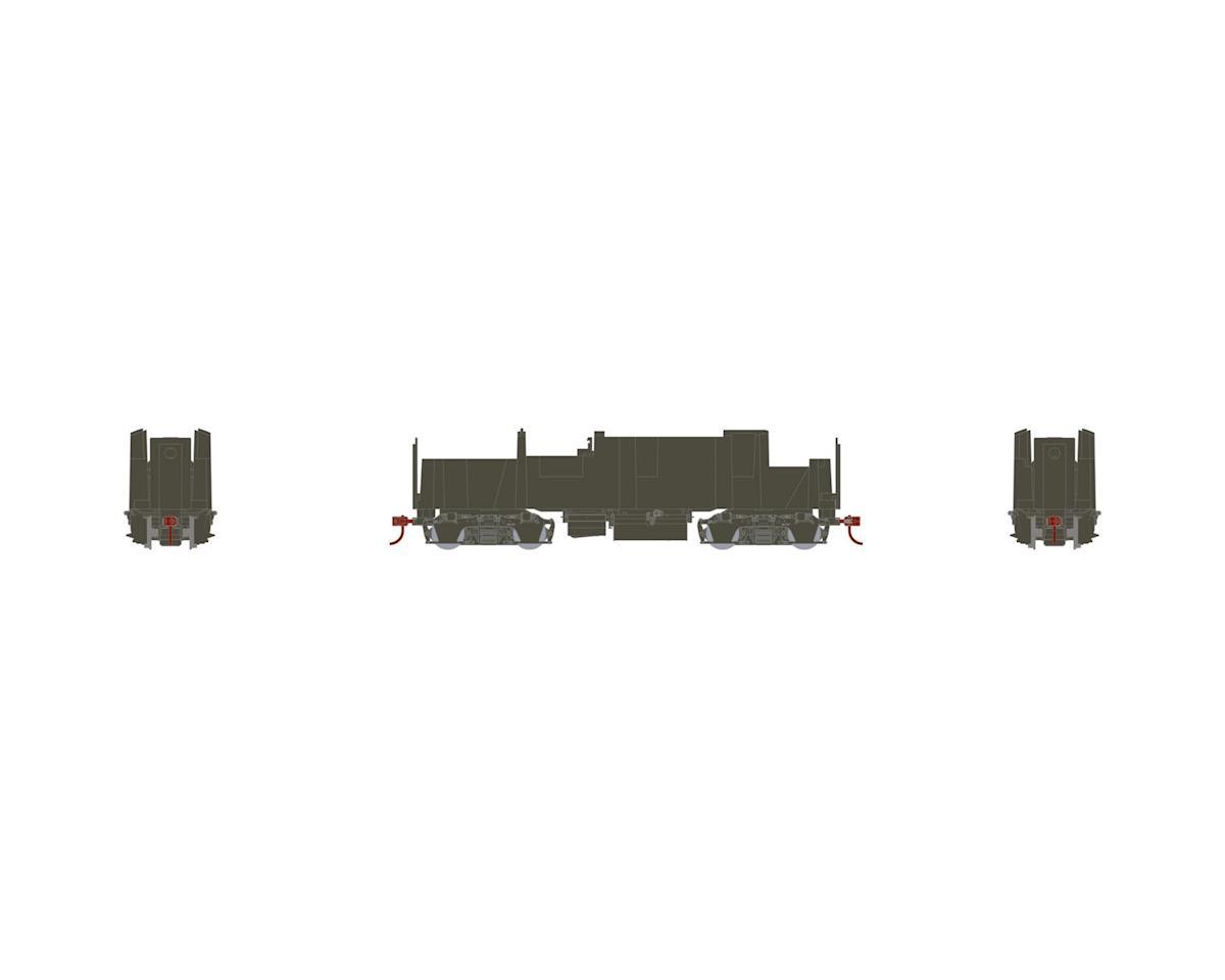 HO F-Unit B Mechanism w /DCC & Sound, SP Gray by Athearn