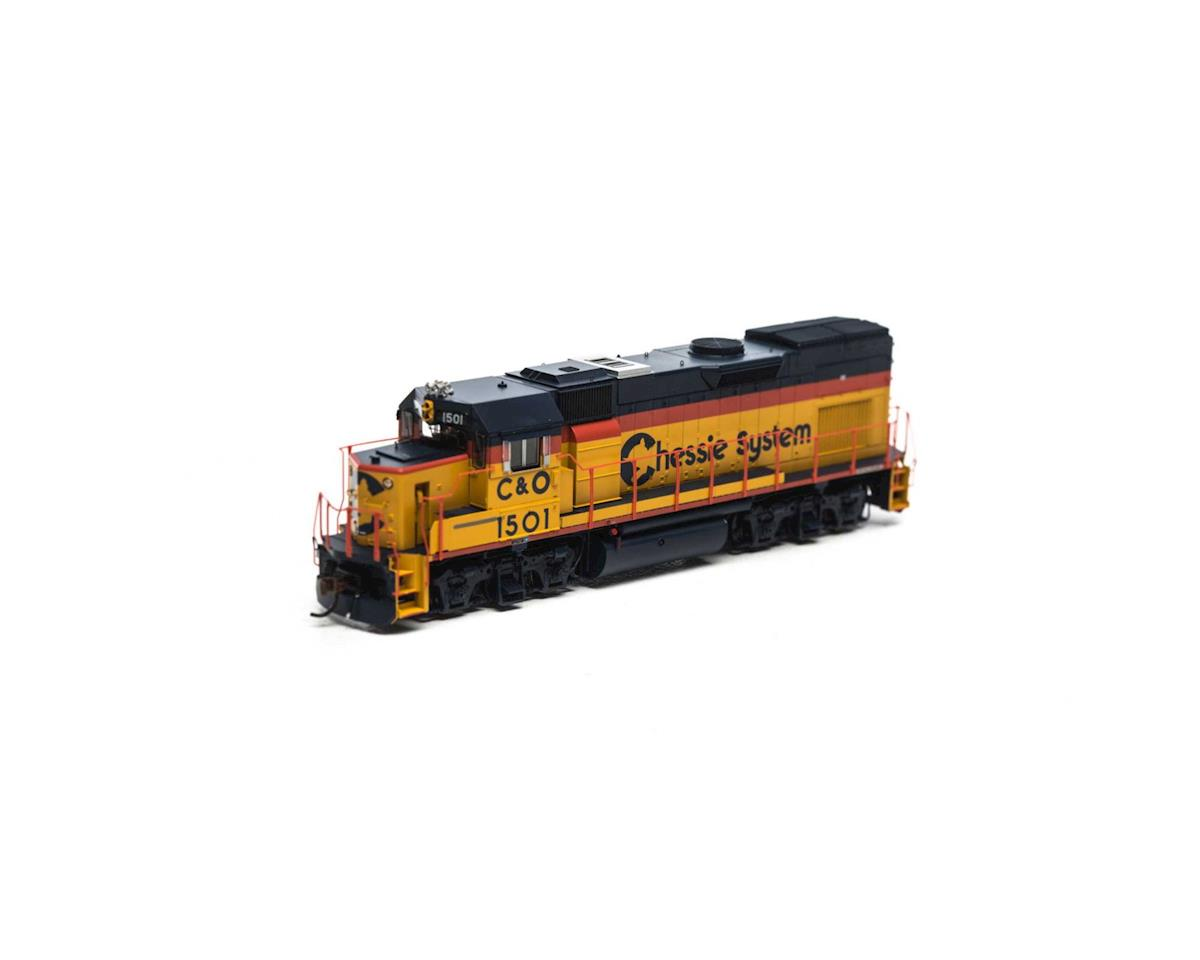 HO GP15T, Chessie #1501 by Athearn