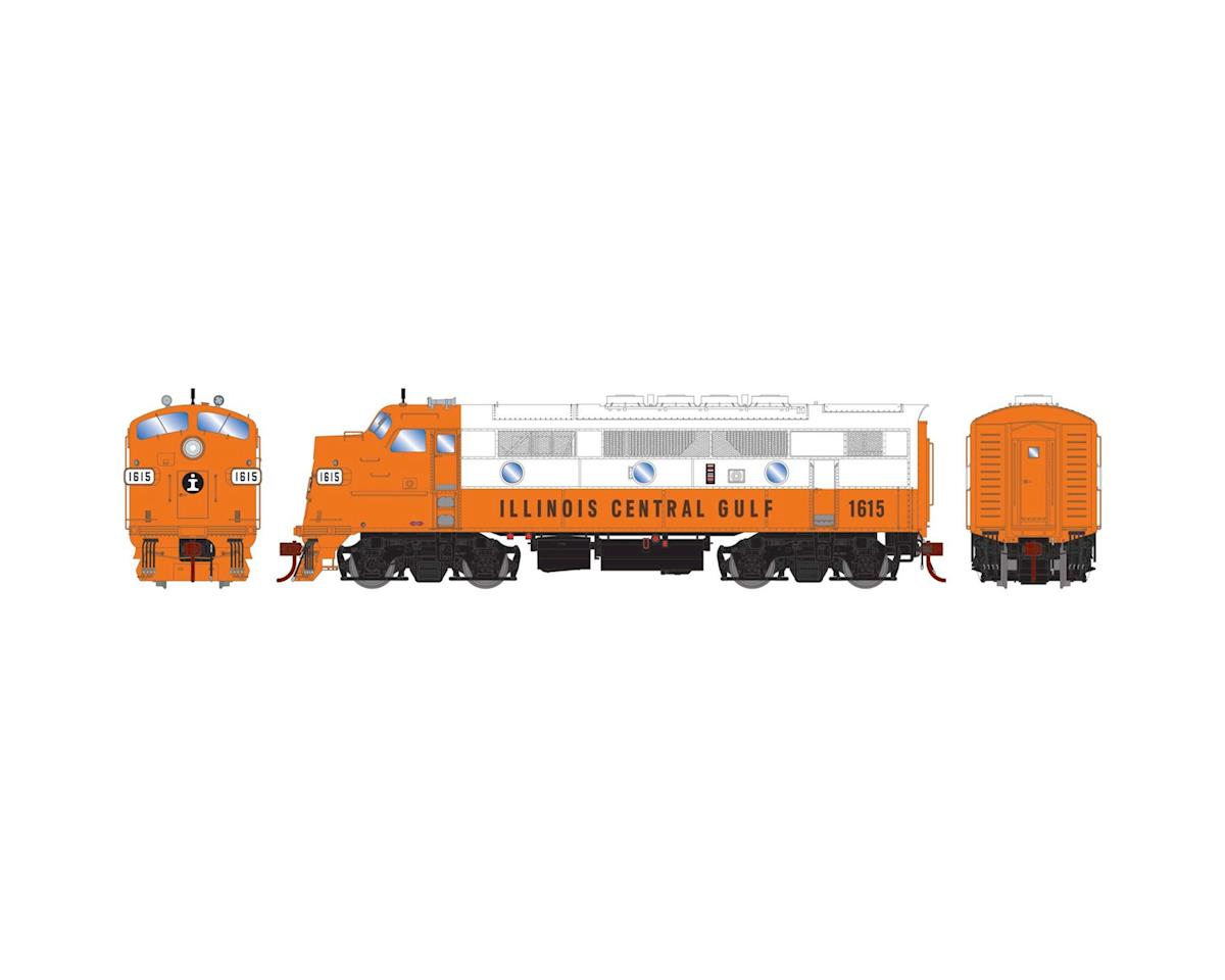 Athearn HO F3A w/DCC & Sound, ICG/Freight #1615