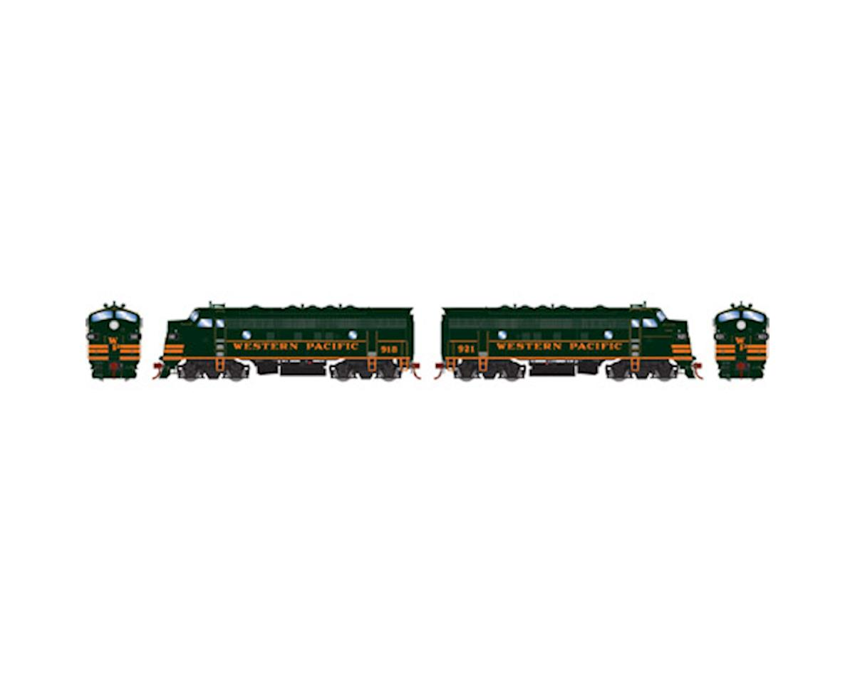 HO F7A/F7A, WP/Freight #918 #921 by Athearn