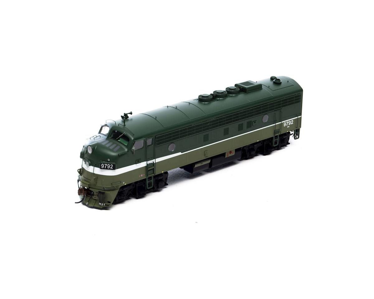 HO FP7A, BN/Passenger #9792 by Athearn