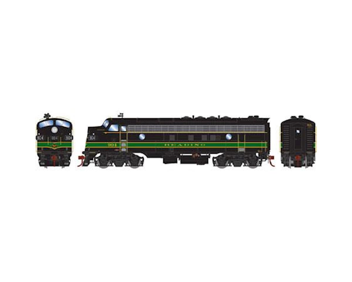 HO FP7A, RDG/Passenger #904 by Athearn