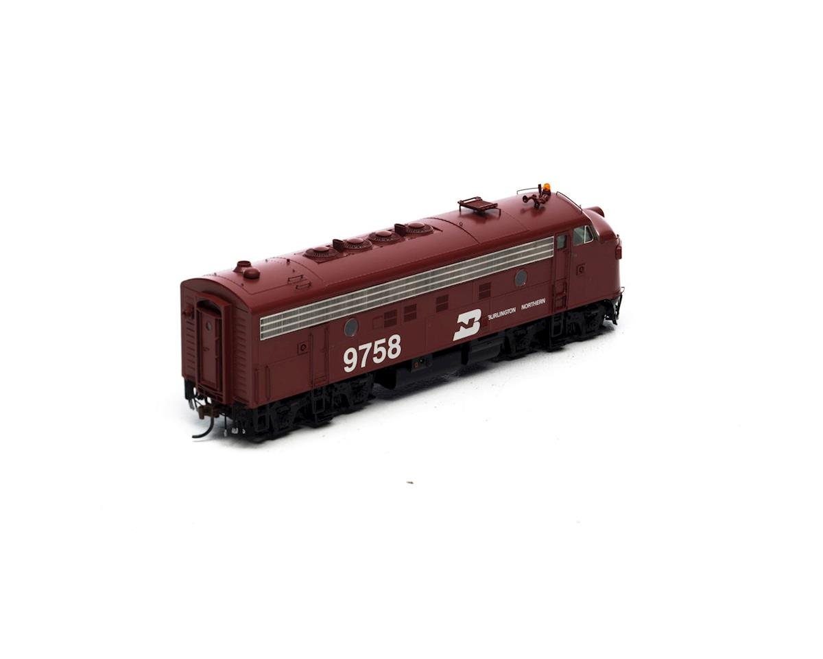 Athearn HO F7A, BN/Freight/Brown #9758