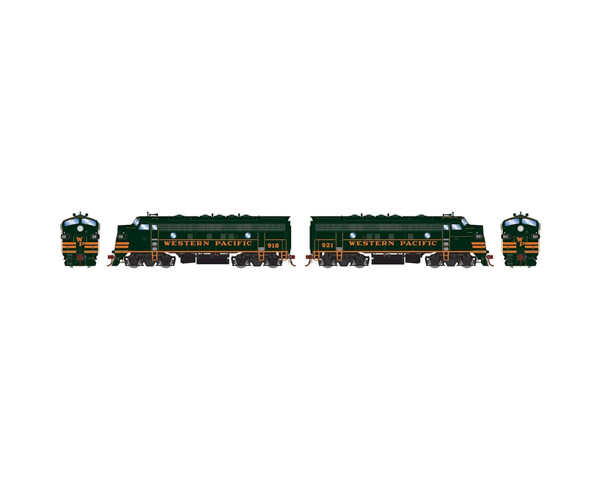 Athearn HO F7A/F7A w/DCC & Sound, WP Freight #918/#921