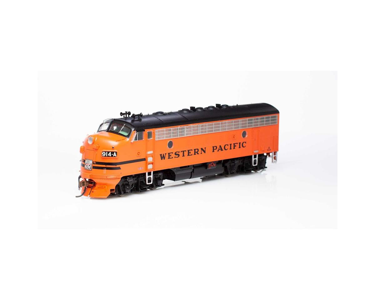 Athearn HO F7A w/DCC & Sound, WP/Freight #914a