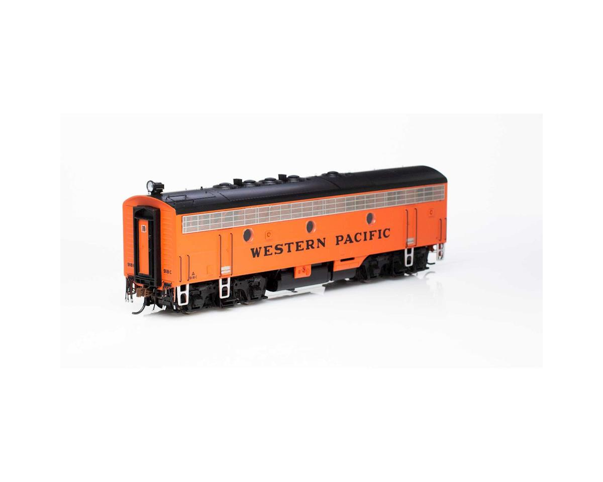 Athearn HO F7B w/DCC & Sound, WP/Freight #918c