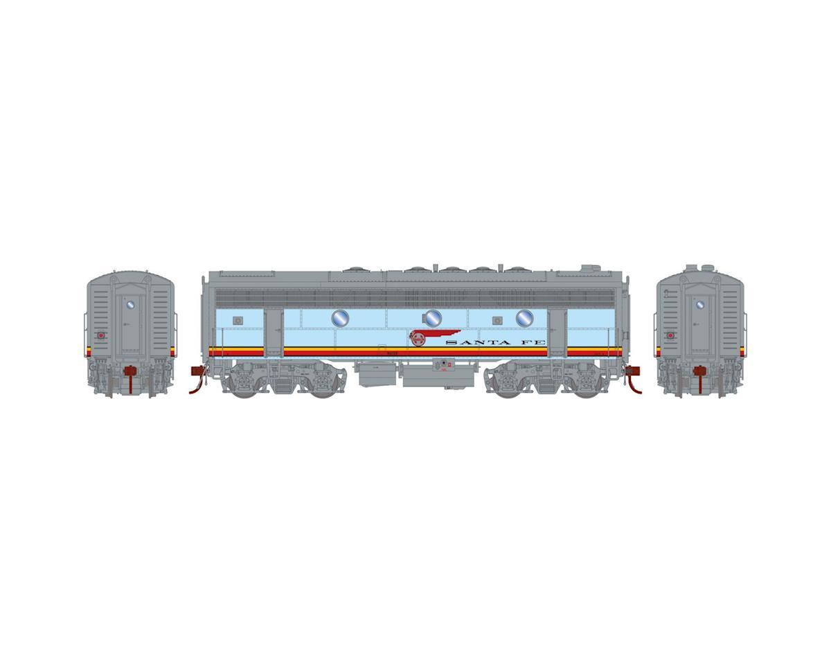 Athearn HO F7B w/DCC & Sound, SF/Passenger #325A