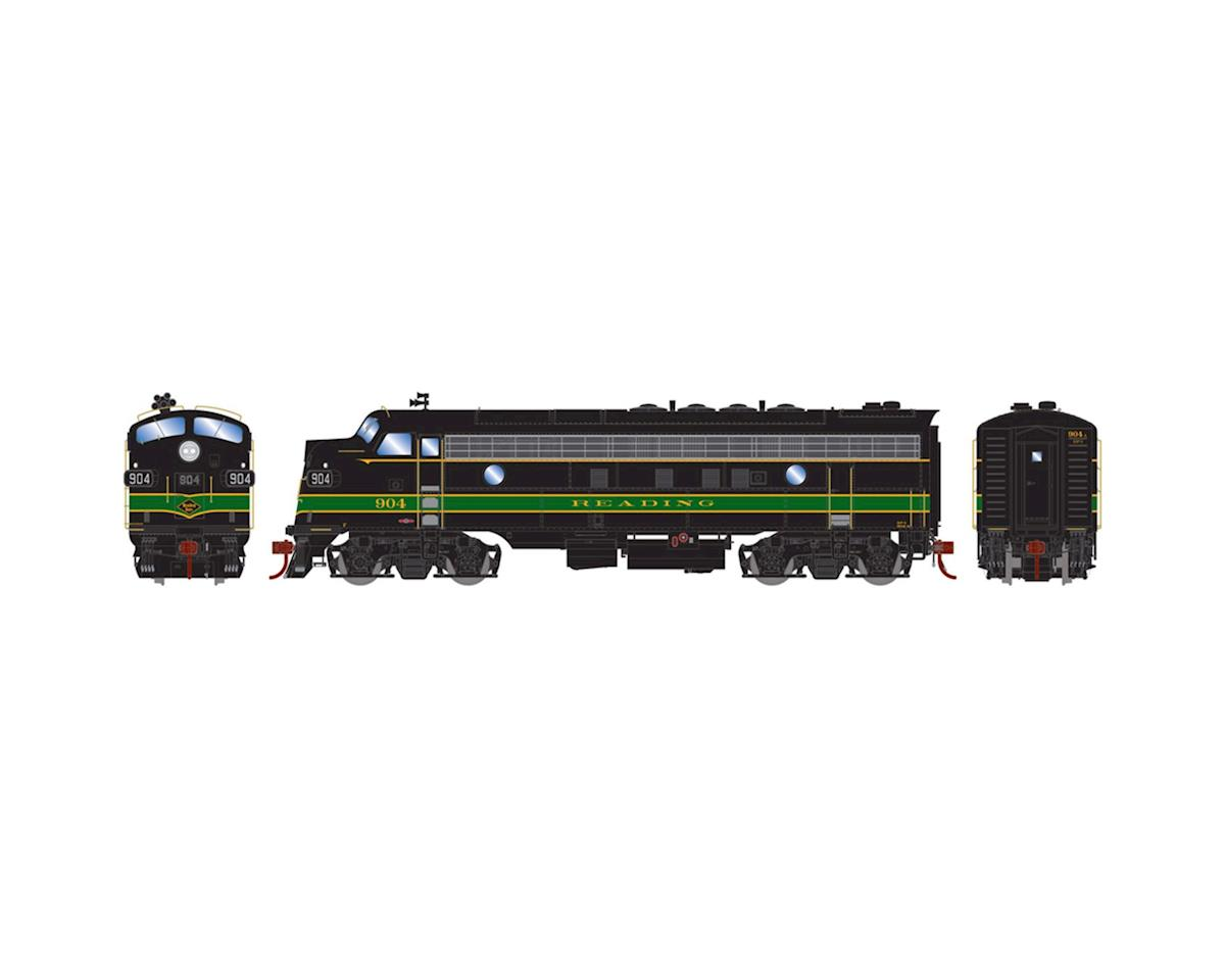 HO FP7A w/DCC & Sound, RDG/Passenger #904 by Athearn