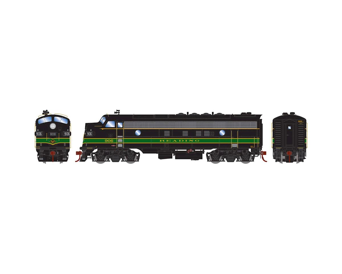 HO FP7A w/DCC & Sound, RDG/Passenger #906 by Athearn