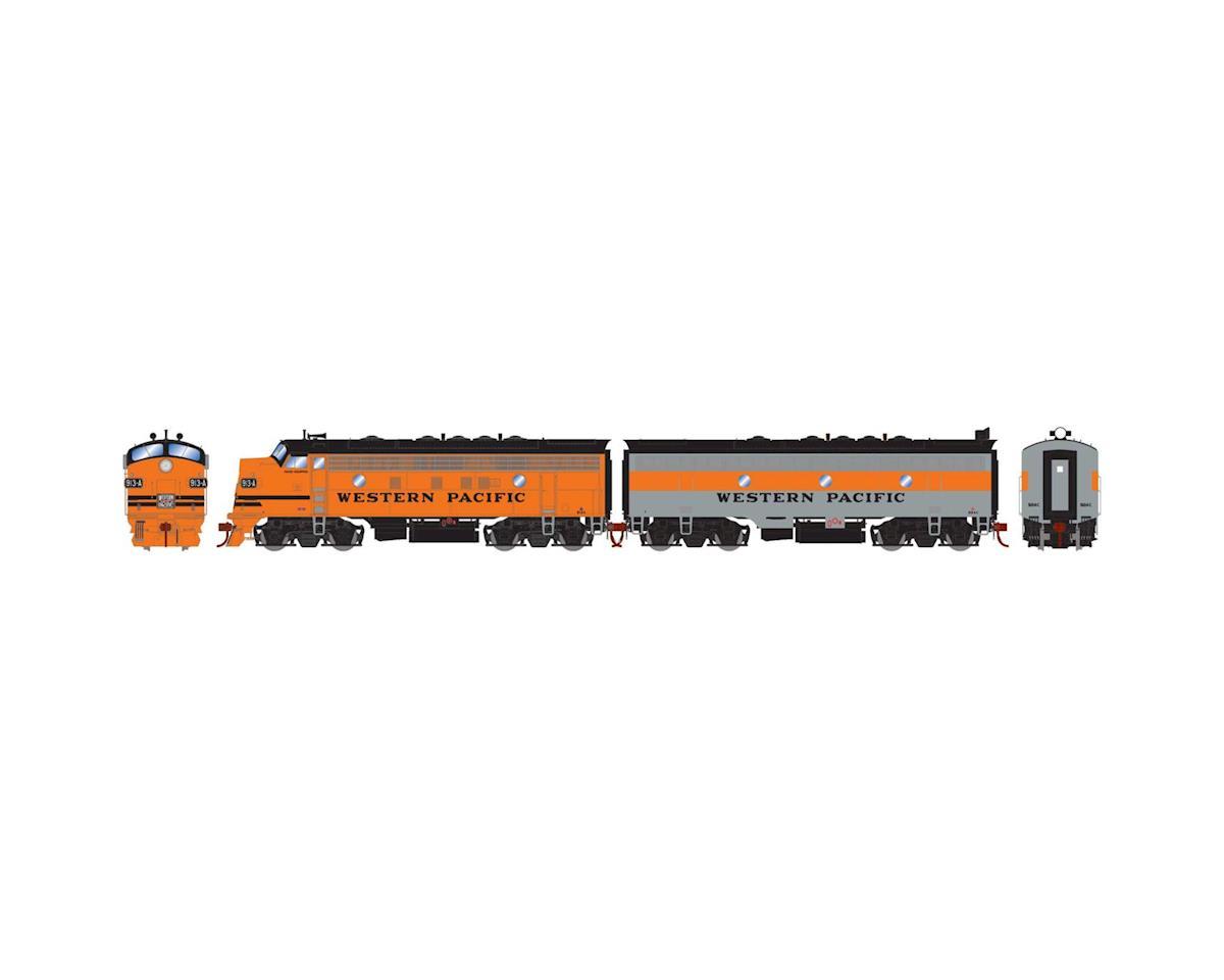 Athearn HO F7 A/B w/DCC & Sound, WP/Freight #913a #924c