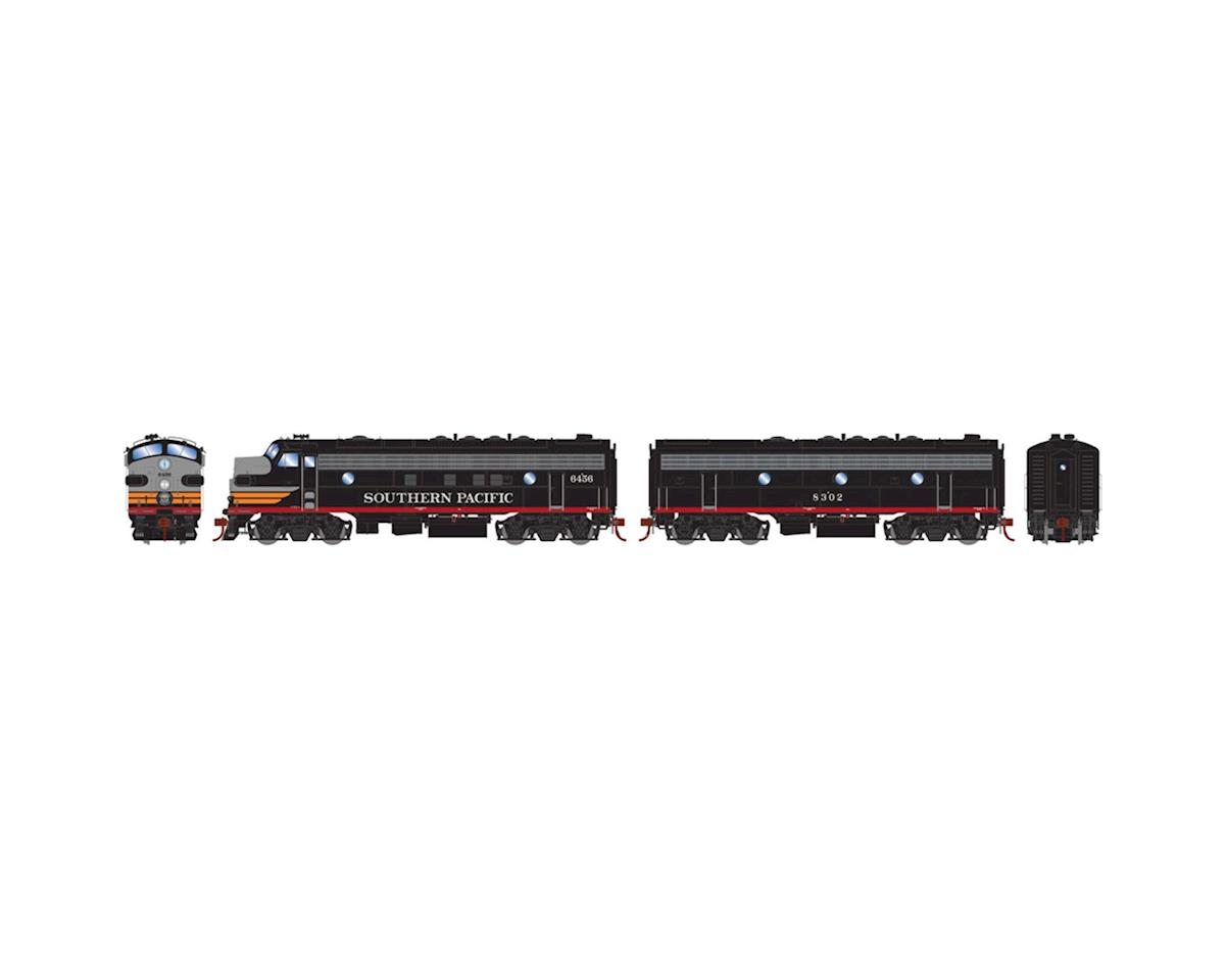 HO FP7A/F7B w/DCC & Sound,SP/Passenger #6456 #8302 by Athearn