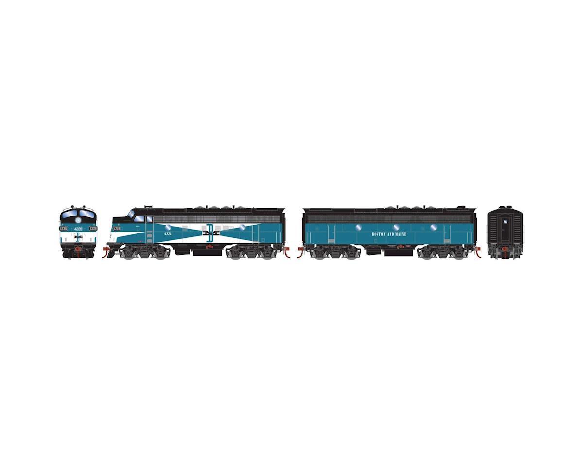 Athearn HO F3A/F3B w/DCC & Sound,B&M/Passenger #4228/#4228