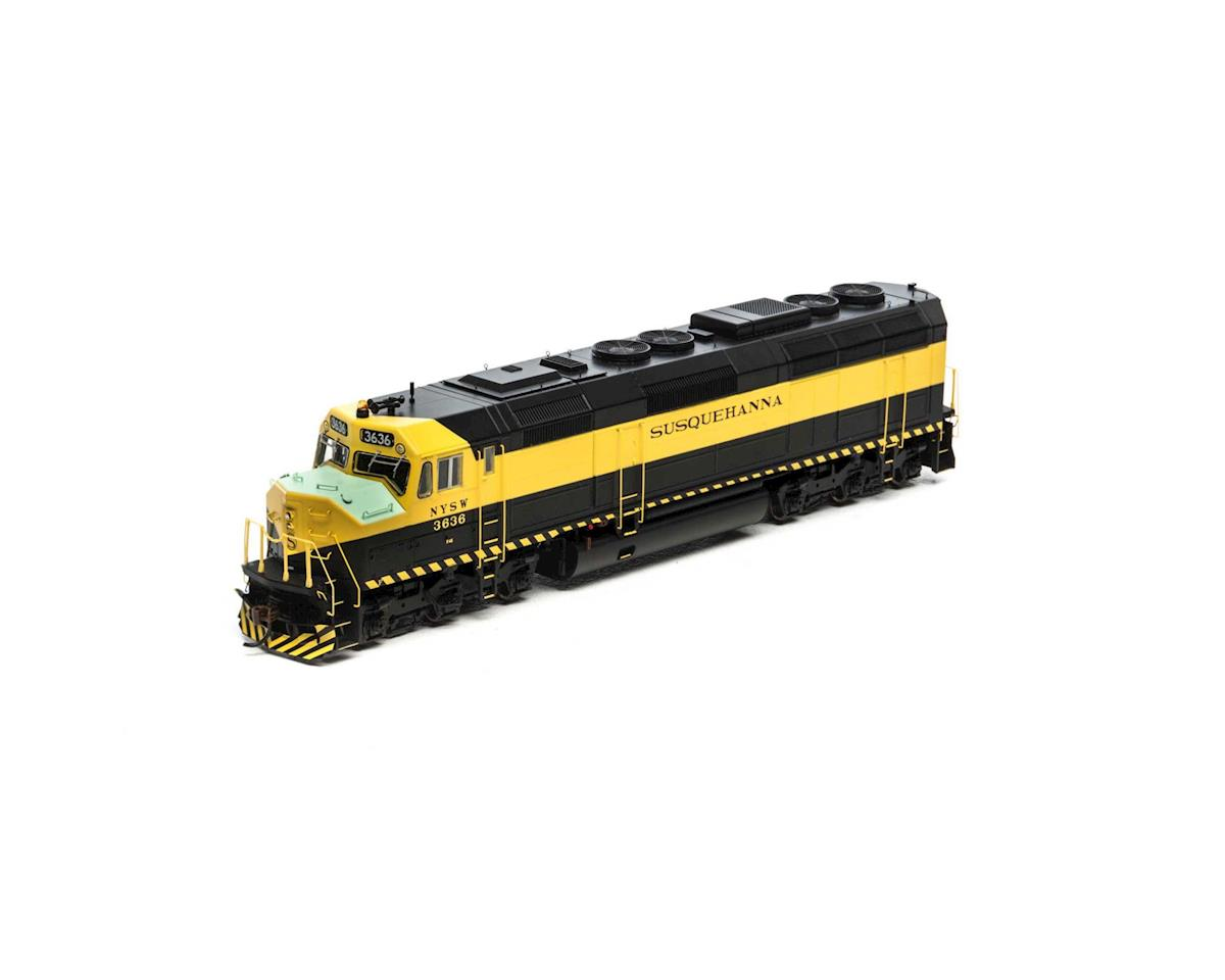 HO F45, NYS&W #3636 by Athearn