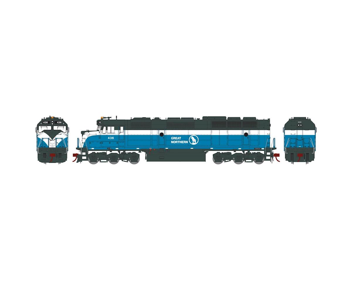 Athearn HO F45 w/DCC & Sound, GN #436