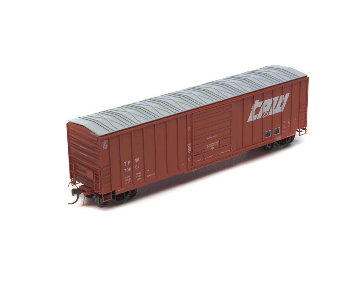 Athearn HO 50' SIECO Box, TP&W #70001