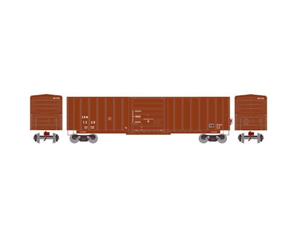 HO 50' SIECO Box, SR&N #1258 by Athearn