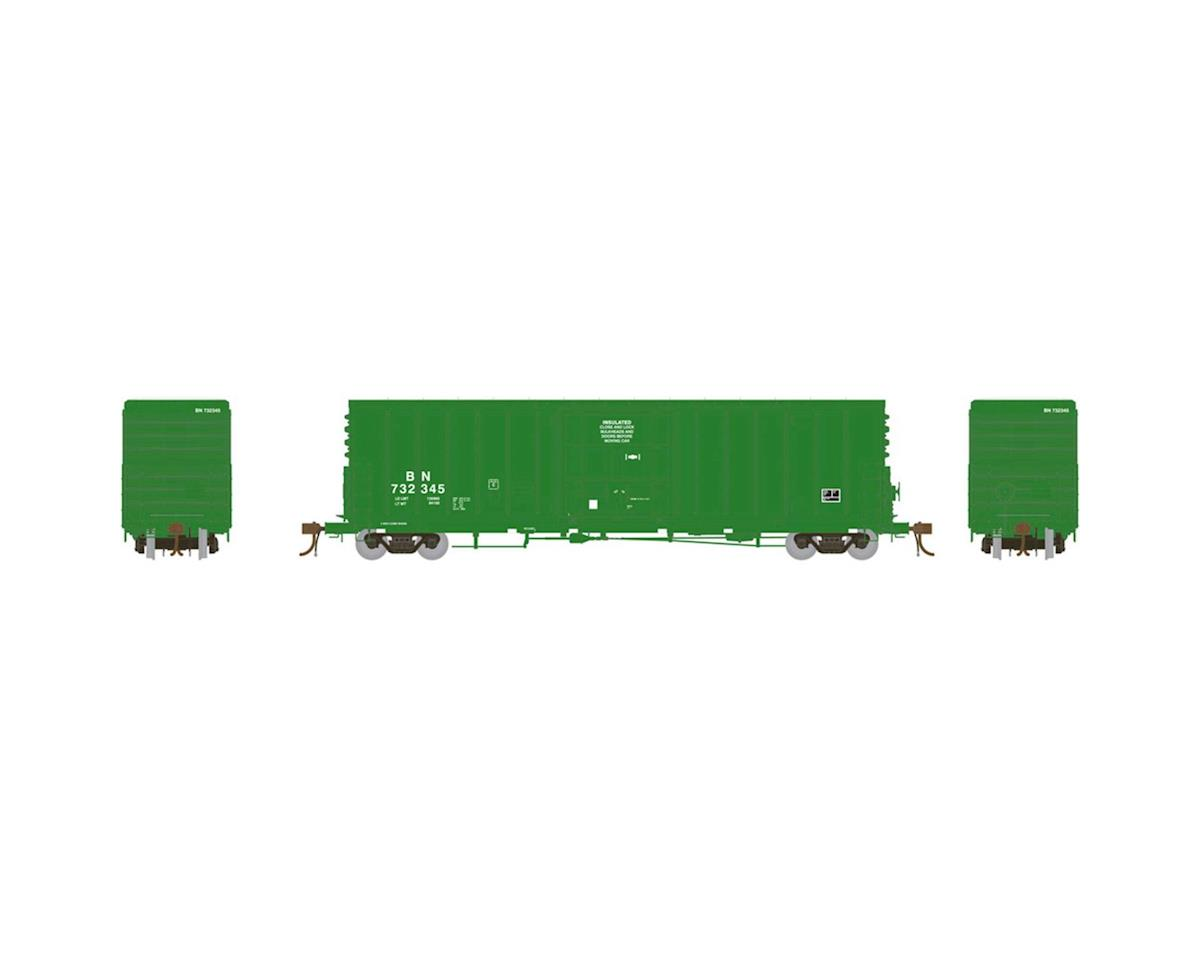 "Athearn HO 50' PC&F Box w/10'6"" Door, BN #732345"
