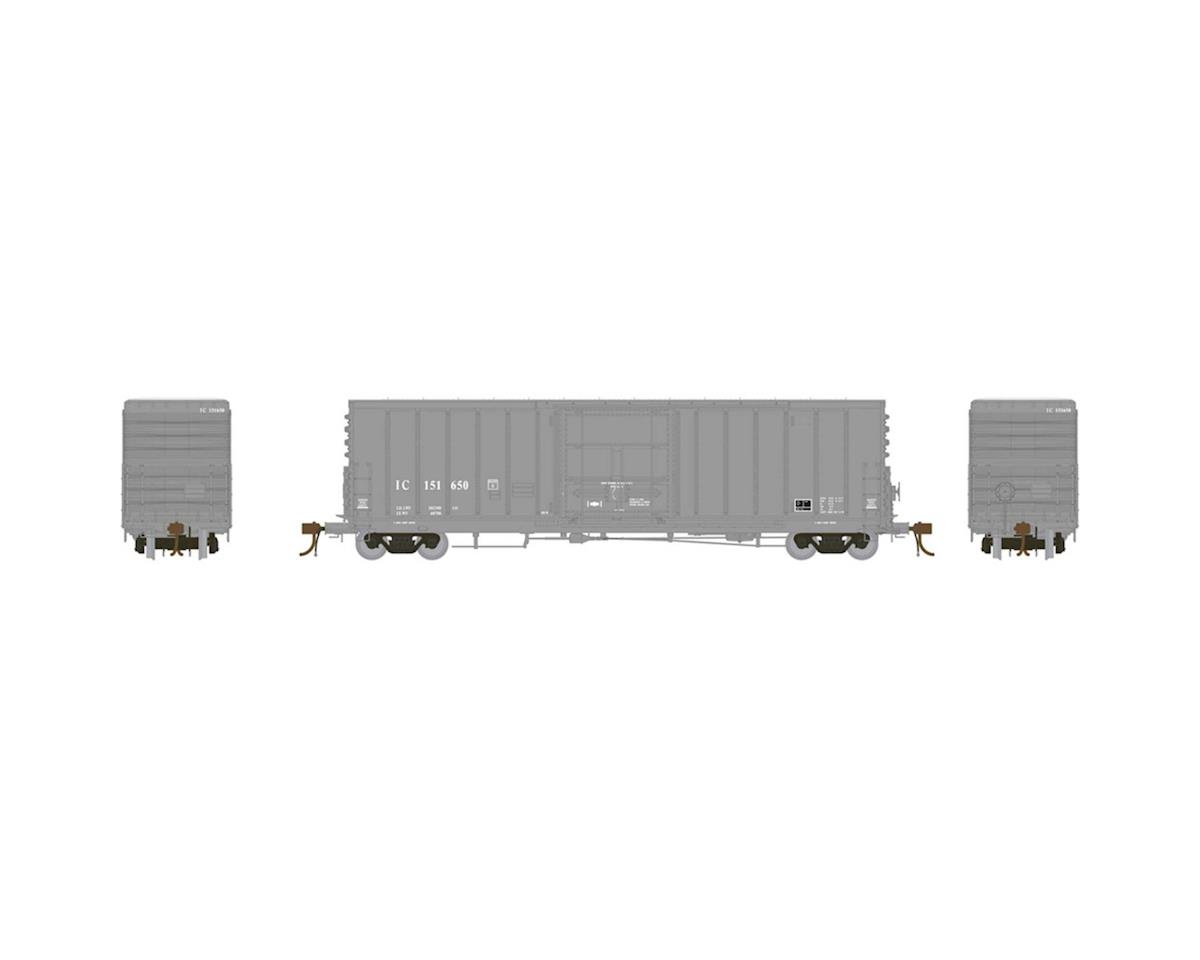 "Athearn HO 50' PC&F Box w/10'6"" Door, IC #151650"