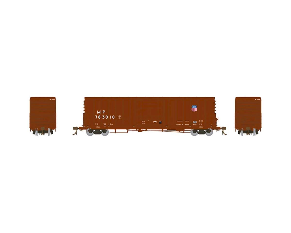 "Athearn HO 50' PC&F Box w/10'6"" Door, MP/UP Shield #783010"