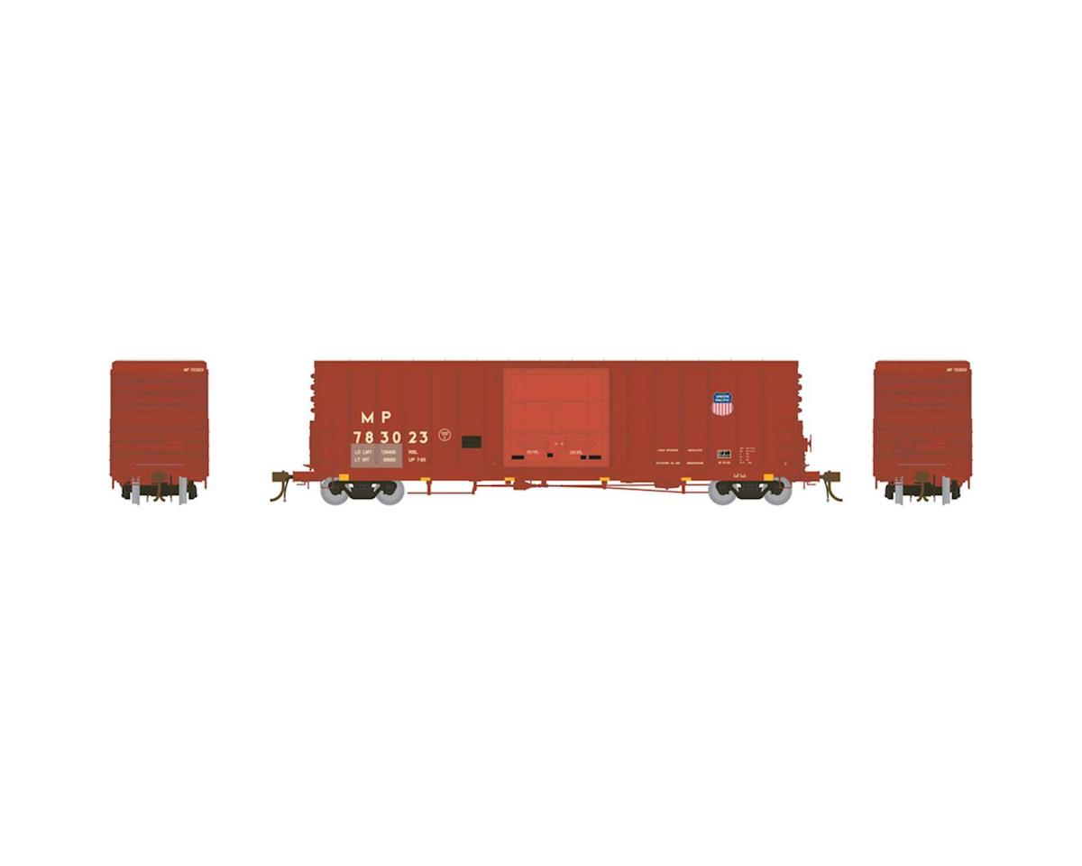 "Athearn HO 50' PC&F Box w/10'6"" Door, MP/UP Shield #783023"