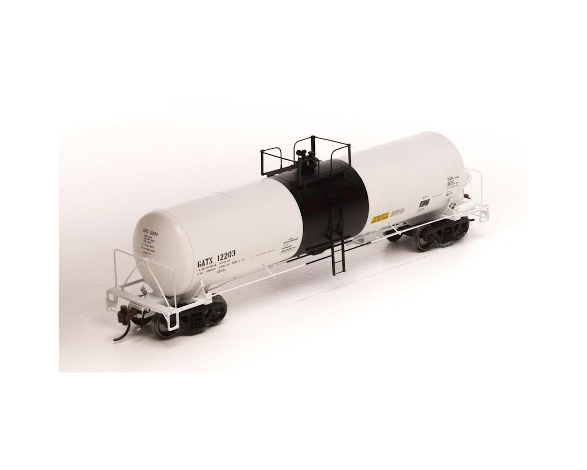 Athearn HO GATC 20,000-Gal Acid Tank,GATX/White/Blk Band#1