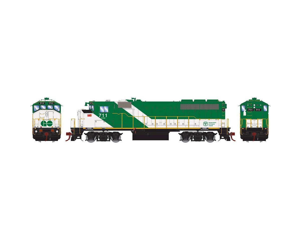 Athearn HO GP40-2W, GO Transit #707