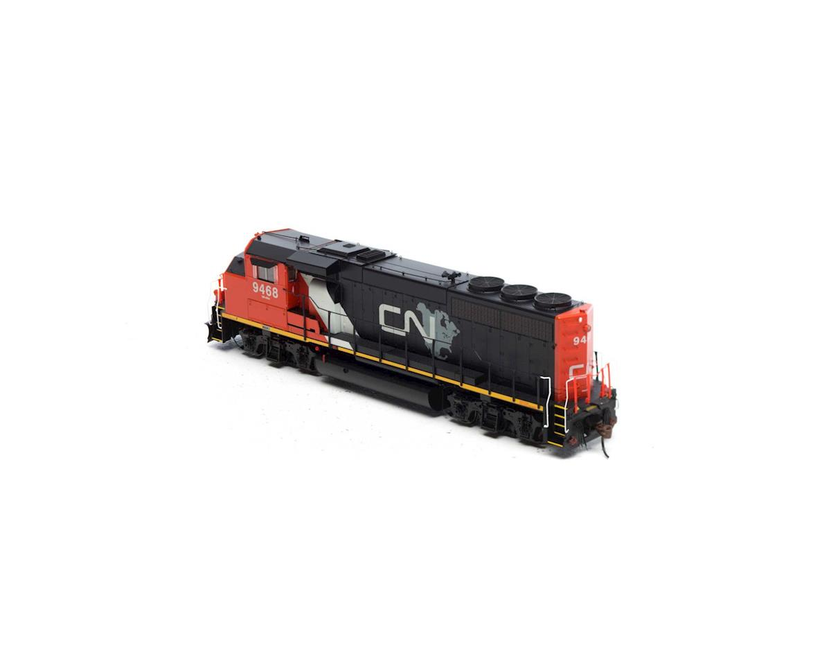 Athearn HO GP40-2L w/DCC & Sound, CN/North America #9468