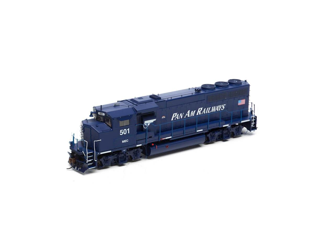 Athearn HO GP40-2L w/DCC & Sound, MEC/Pan Am #501