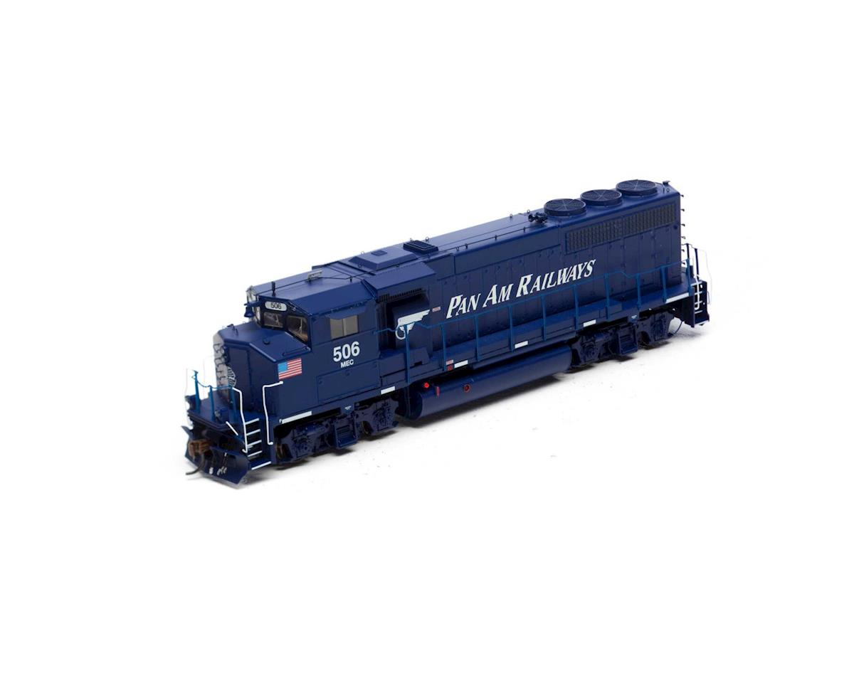 Athearn HO GP40-2L w/DCC & Sound, MEC/Pan Am #506