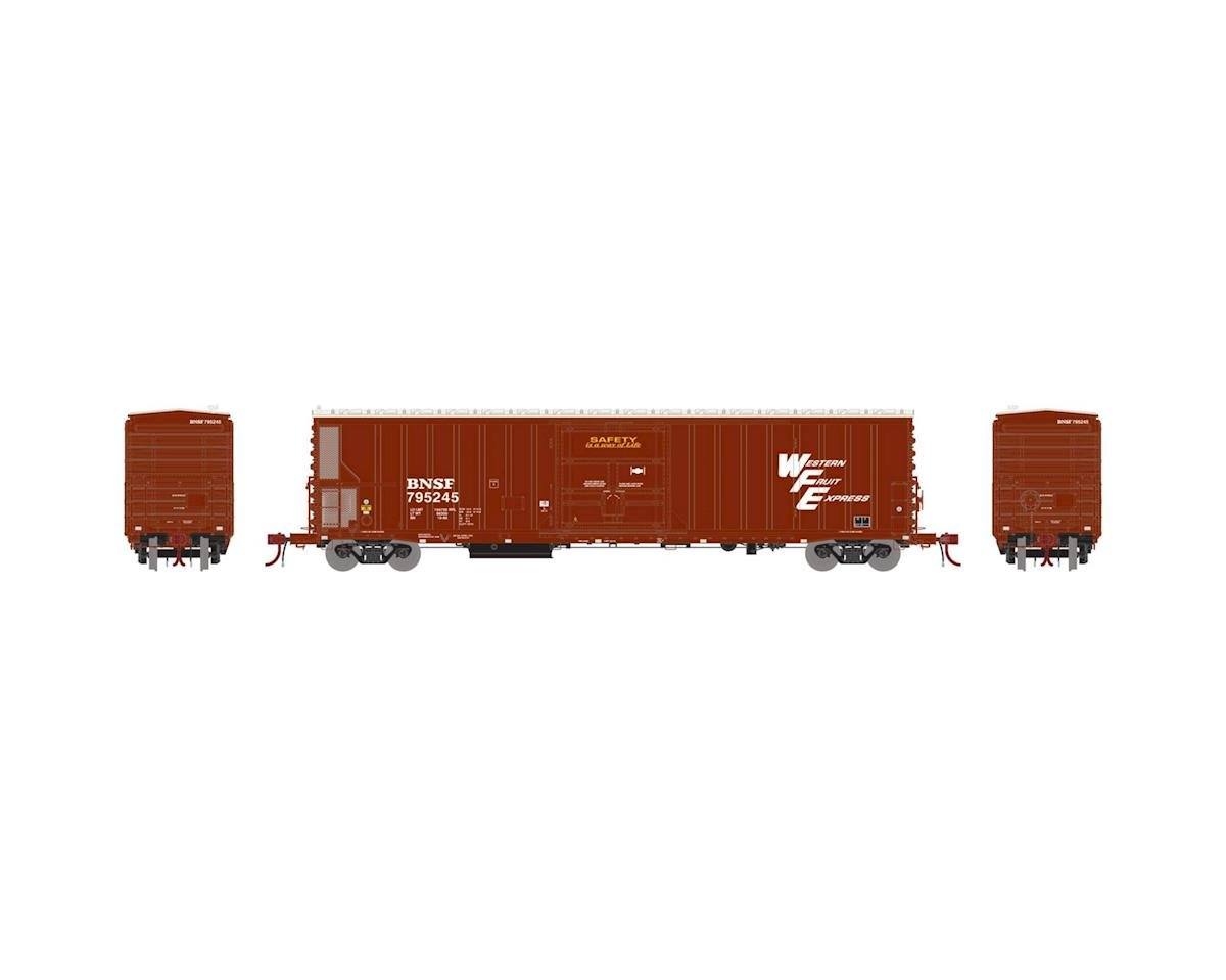 Athearn HO 57' Mechanical Reefer, BNSF/WFE #795245