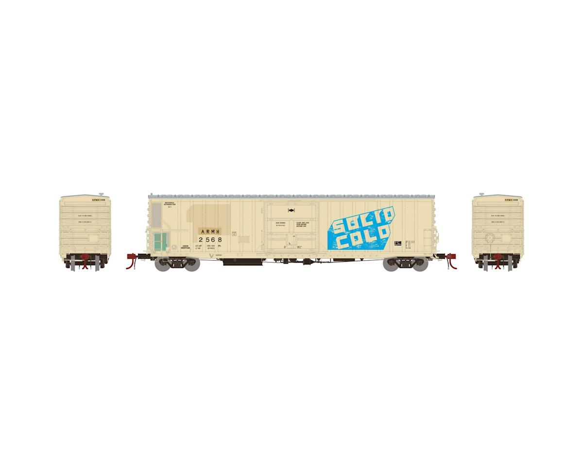 Athearn HO 57' Mechanical Reefer, UP/ARMH/Solid Cold #2568
