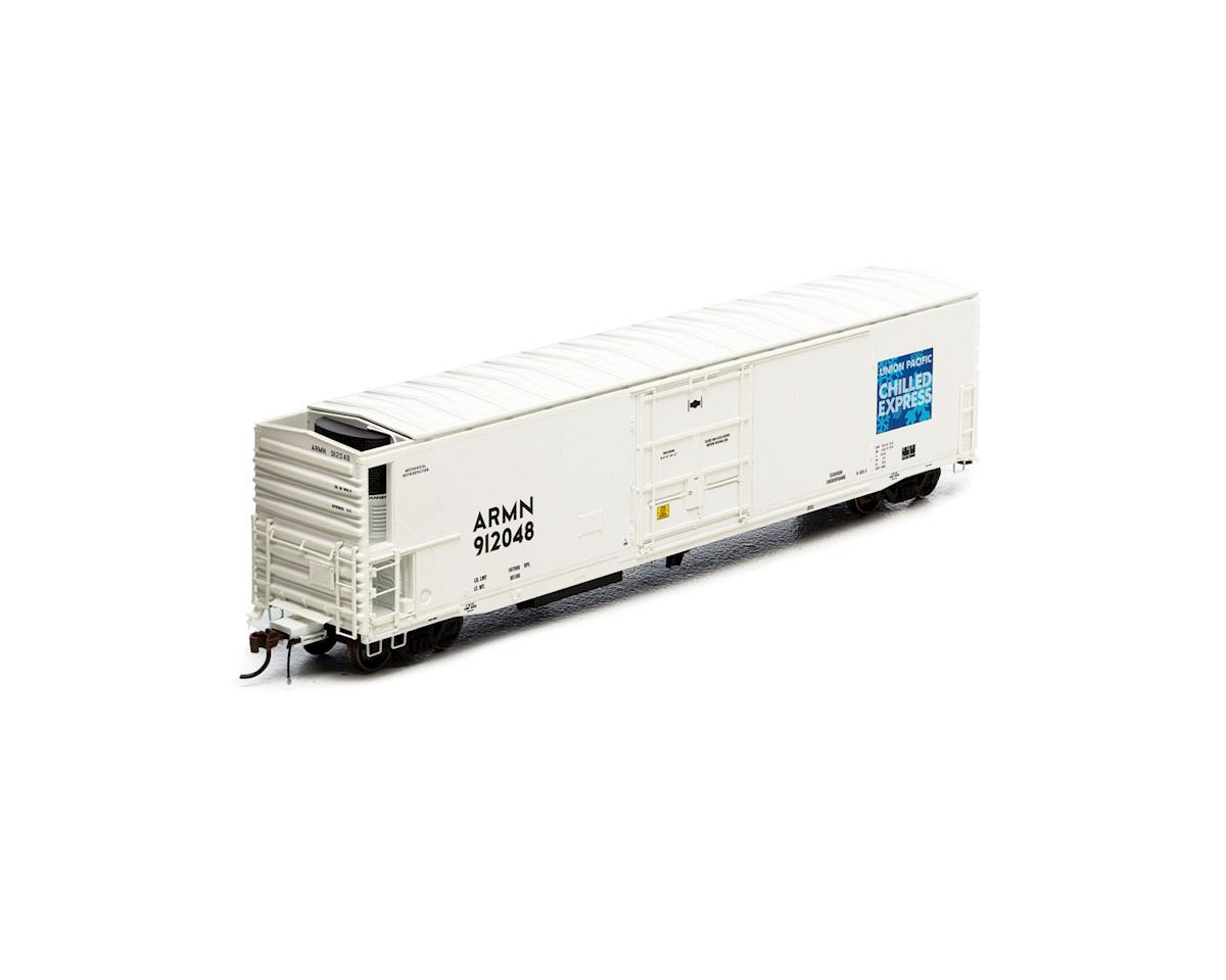 Athearn HO 57' Mechanical Reefer w/Sound, UP/ARMN #912048