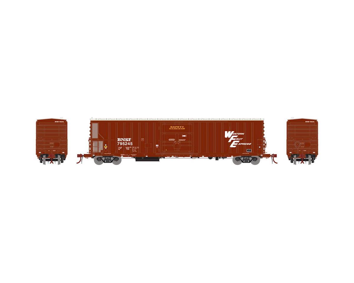 Athearn HO 57' Mechanical Reefer w/Sound, BNSF/WFE #795245