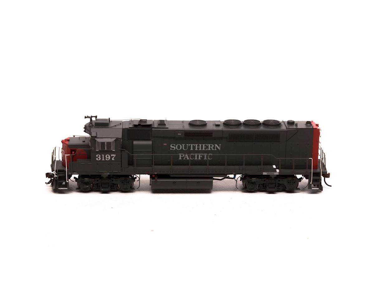 Athearn HO GP40P-2 w/DCC & Sound, SP Grey & Red #3197