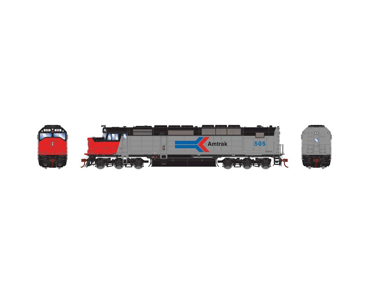 Athearn HO SDP40F w/DCC & Sound, Amtrak #505