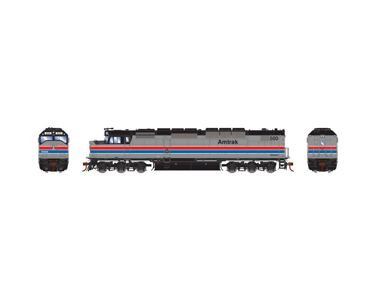 Athearn HO SDP40F w/DCC & Sound, Amtrak #500