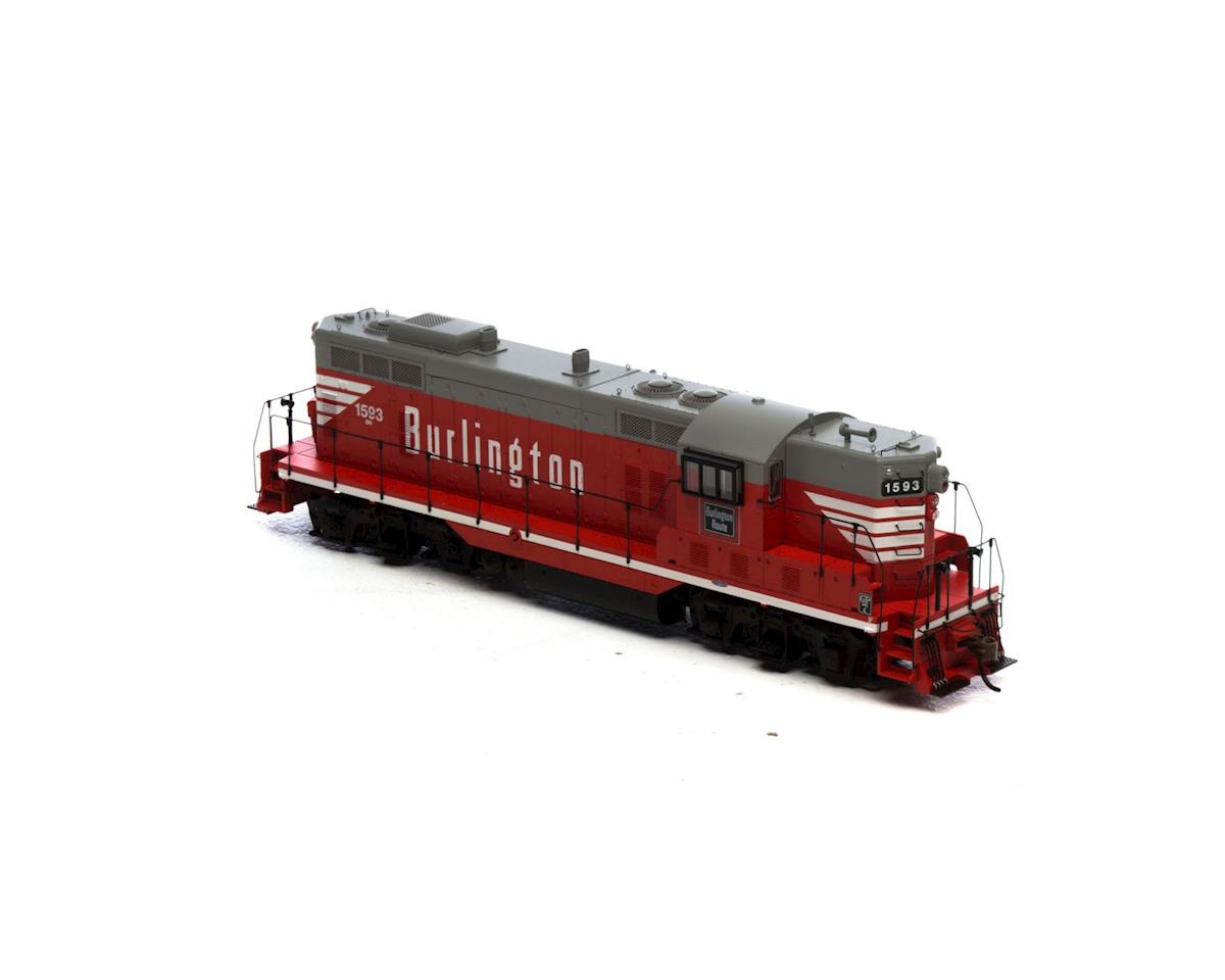 HO GP7, BN #1593 by Athearn