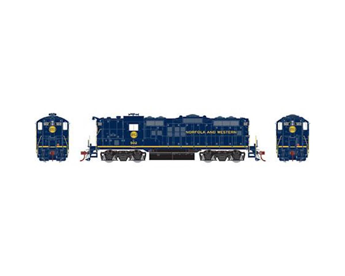 Athearn HO GP9, N&W/Blue #502