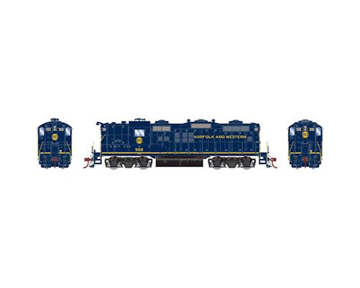 Athearn HO GP9, N&W/Blue #508