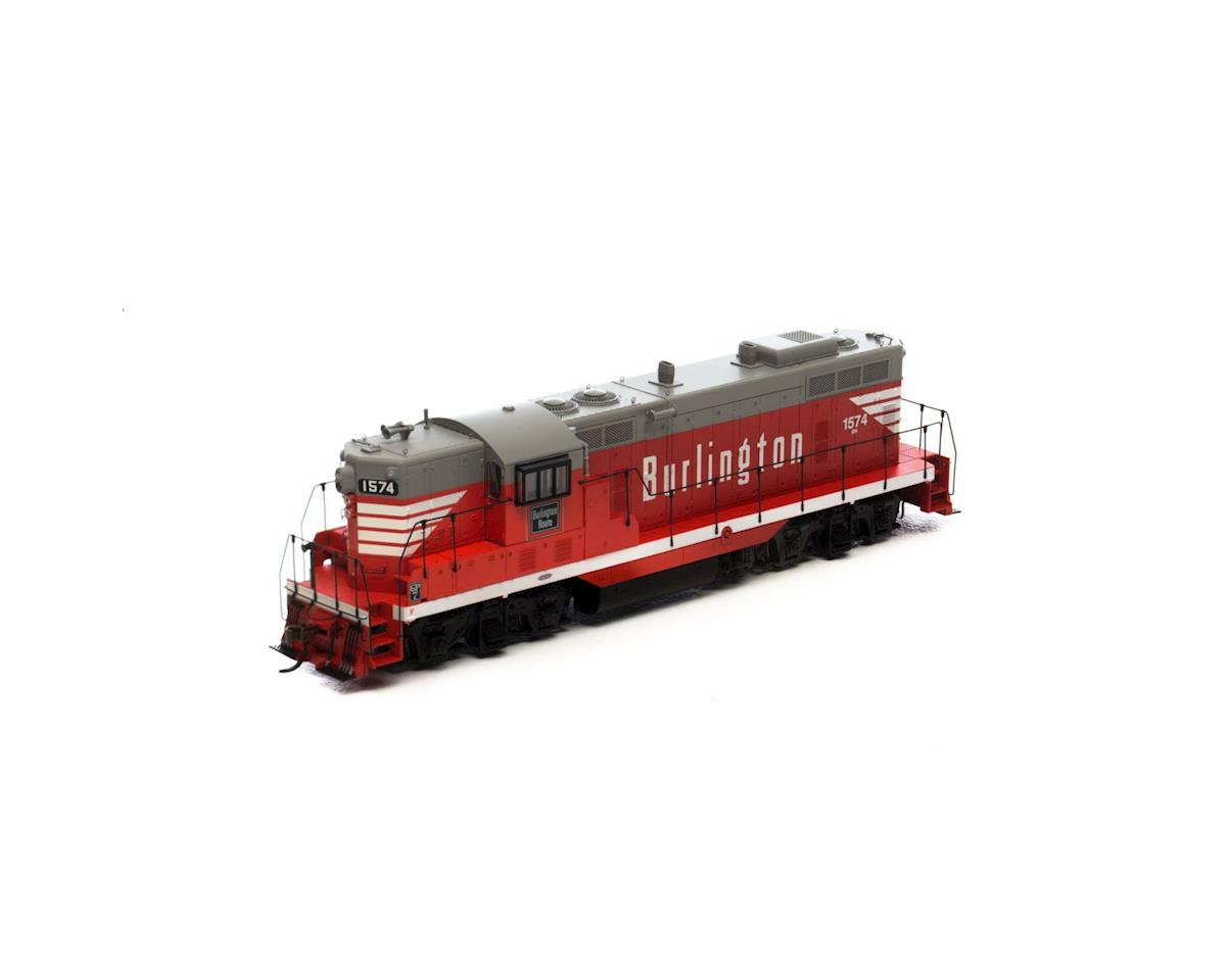 HO GP7 w/DCC & Sound, BN #1574 by Athearn