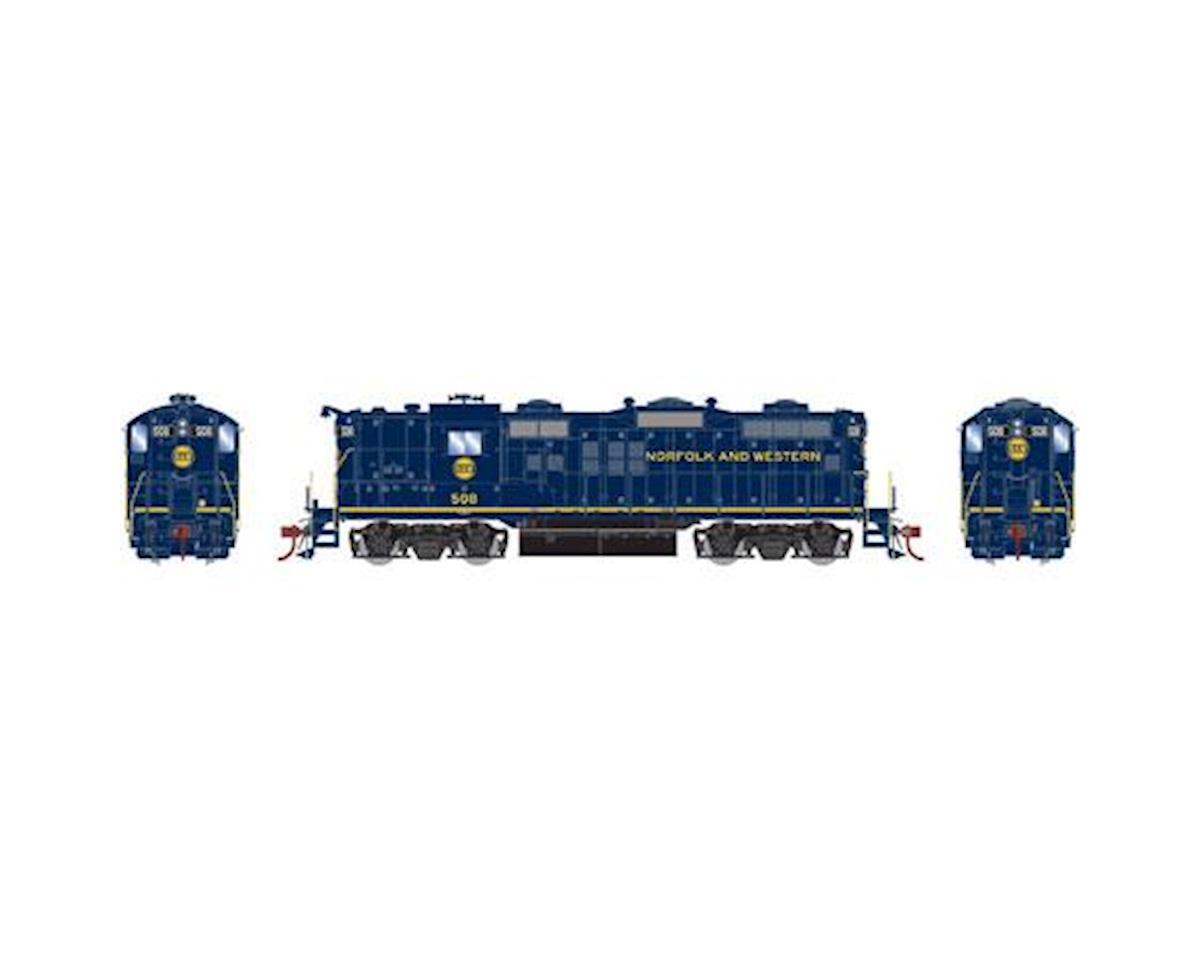 Athearn HO GP9 w/DCC & Sound, N&W Blue #508