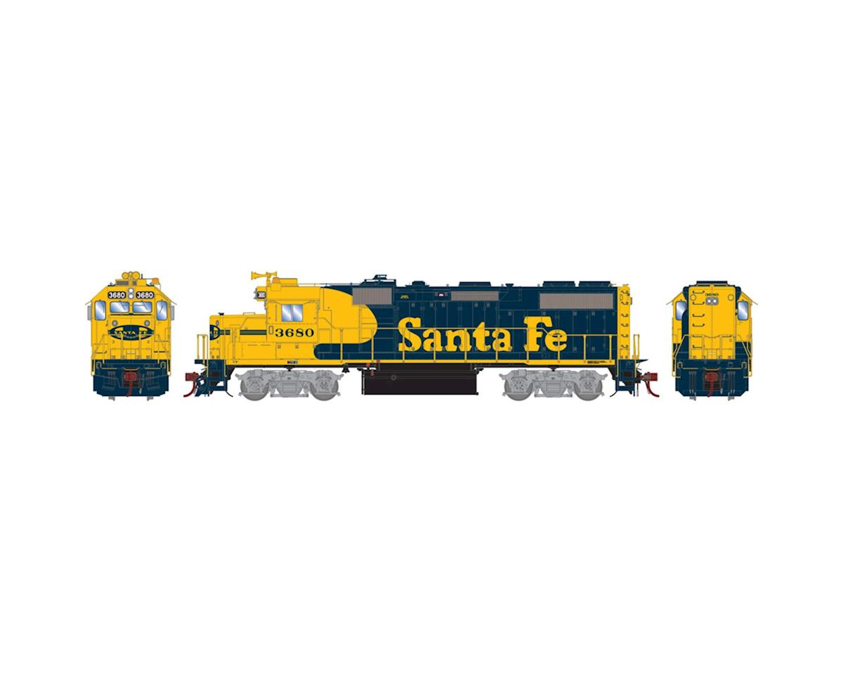 Athearn HO GP39-2 Phase II w/DCC & Sound, SF #3680