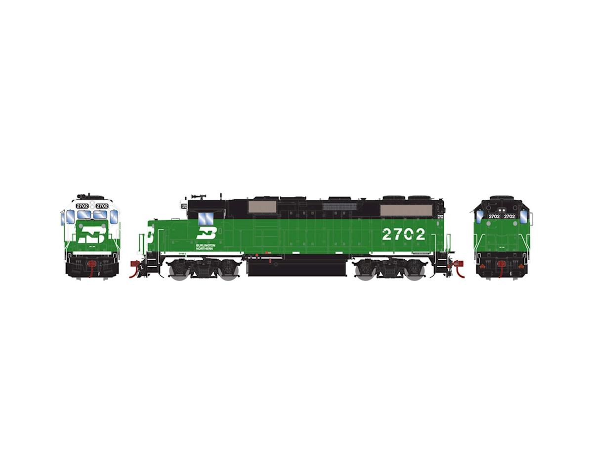 Athearn HO GP39-2 PHllb w/DCC & Sound, BN/White Face #2702