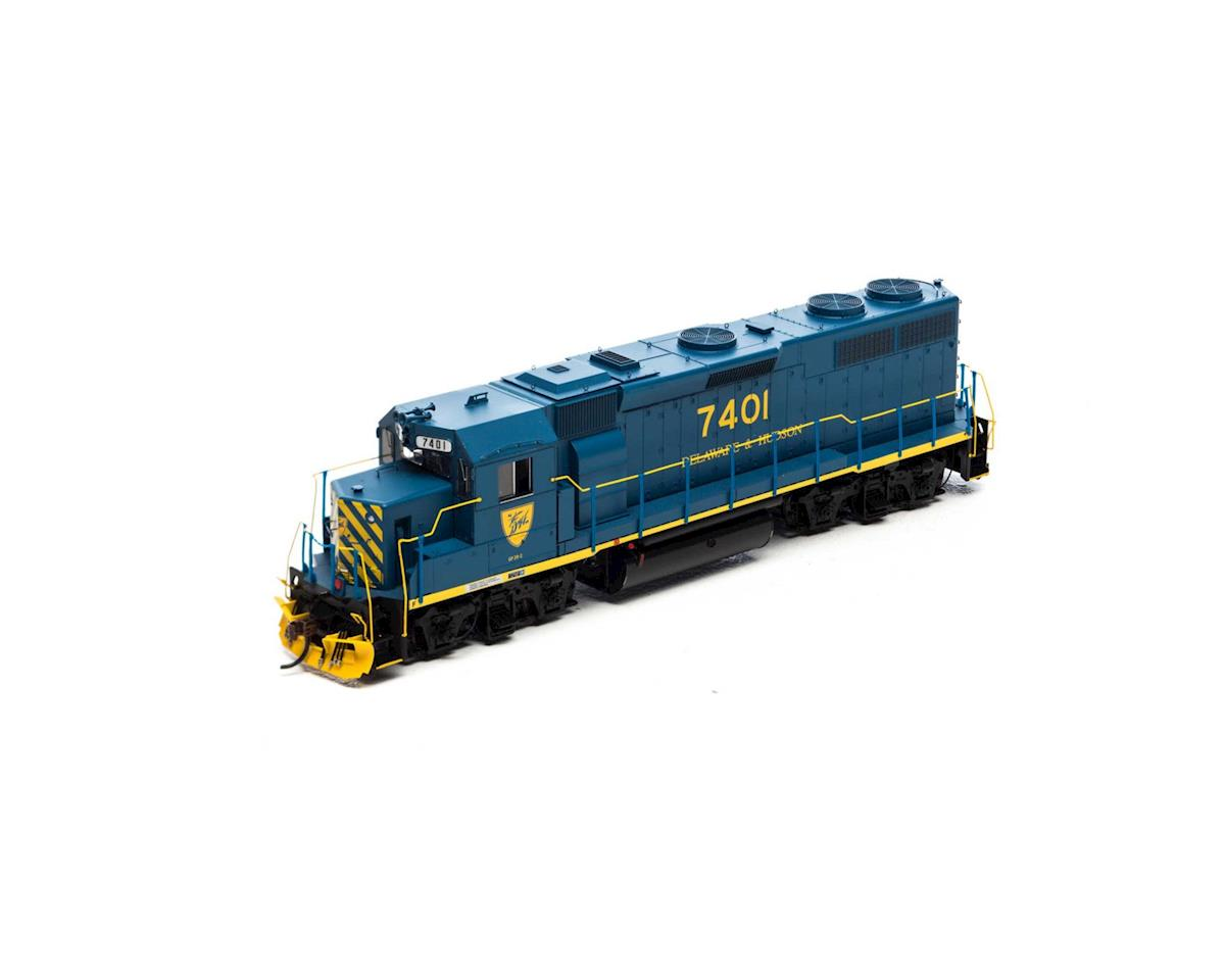Athearn HO GP39-2 Phase I w/DCC & Sound, D&H #7401