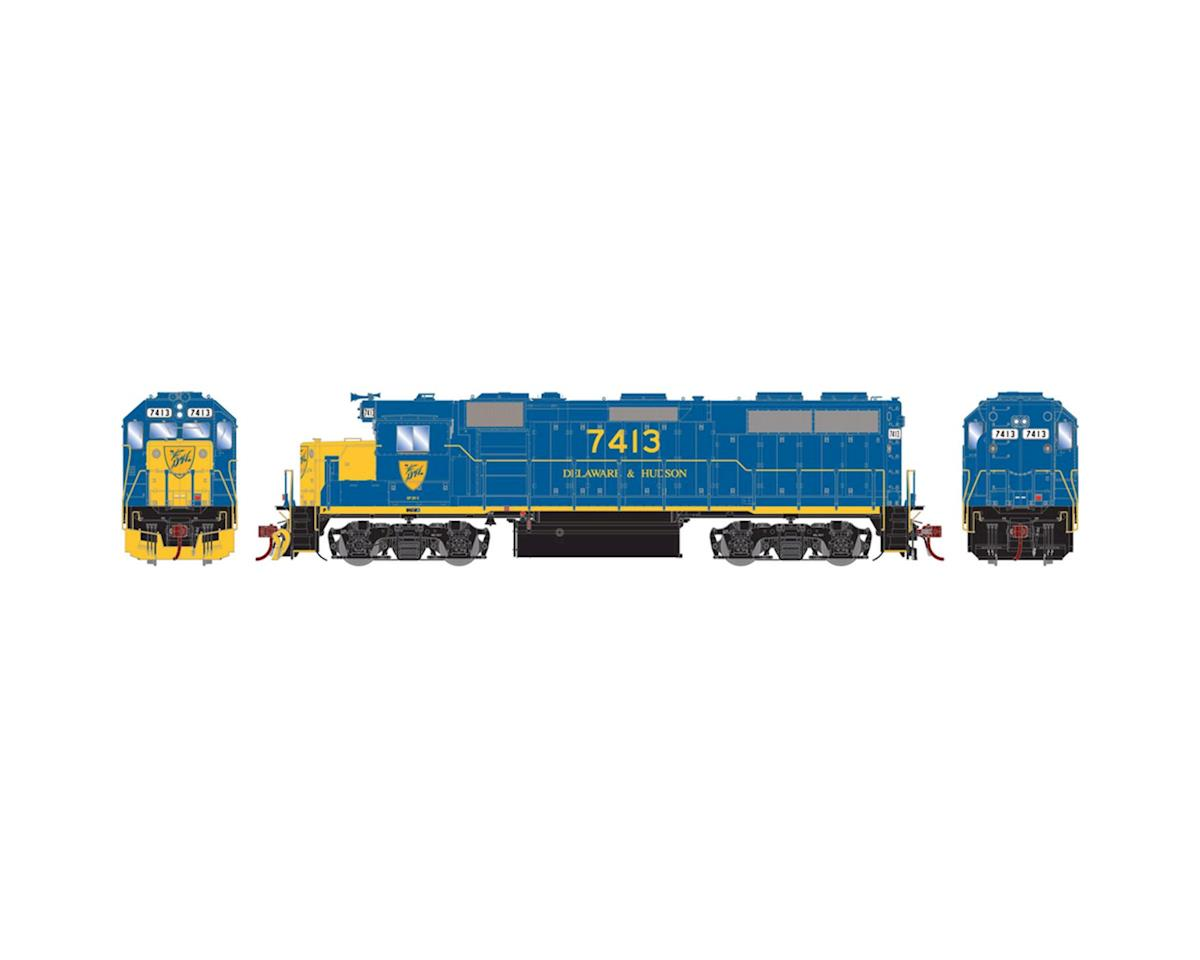 Athearn HO GP39-2 Phase I w/DCC & Sound, D&H #7413