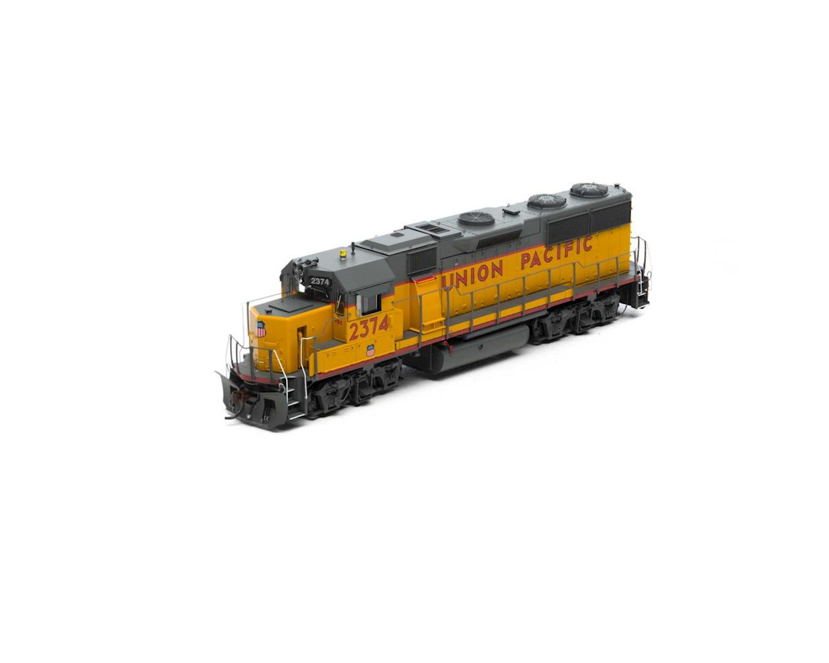 Athearn HO GP39-2 Phase III w/DCC & Sound, UP #2374