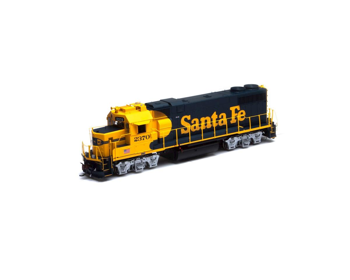 Athearn HO GP38-2, SF/Yellow Warbonnet #2370