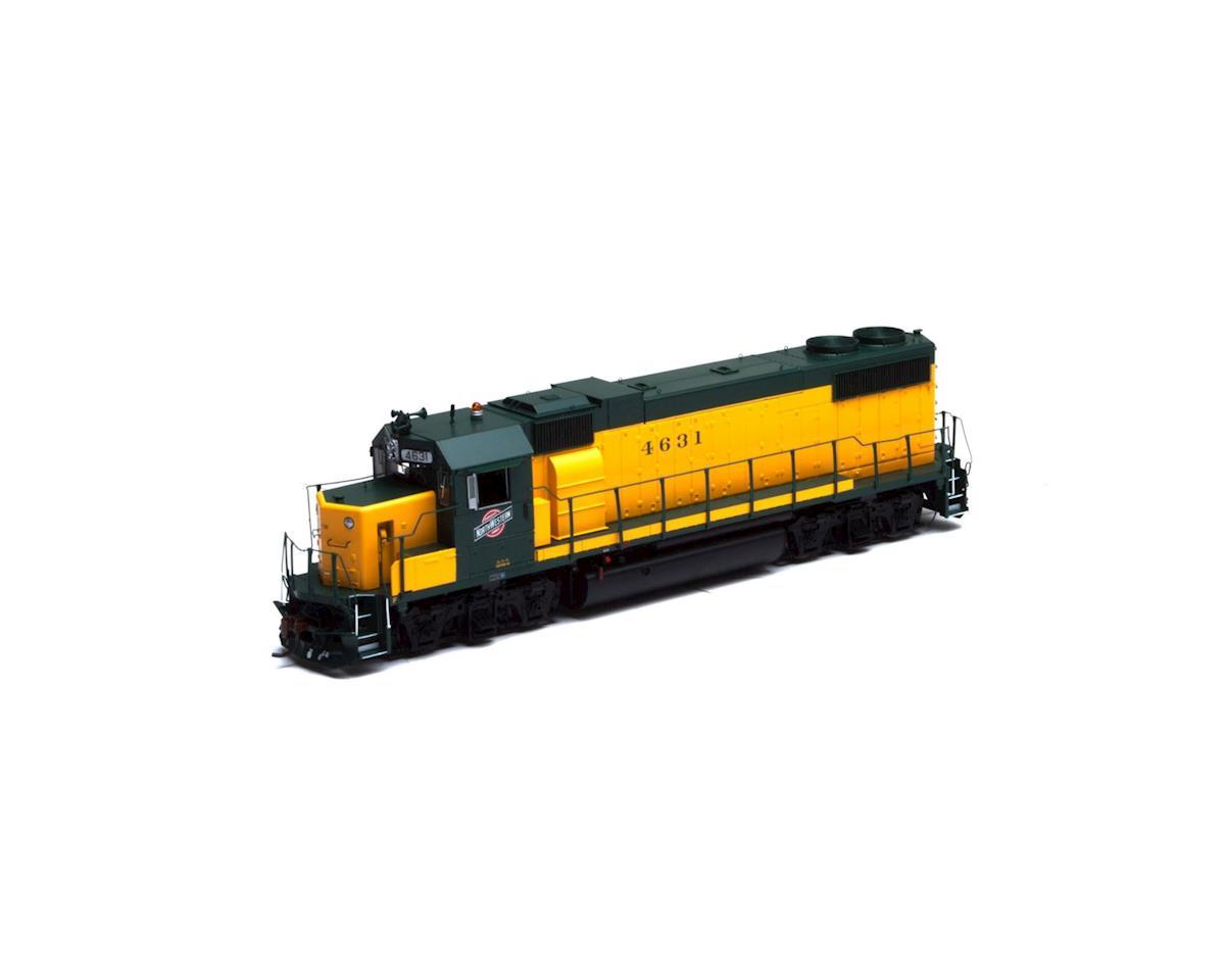 Athearn HO GP38-2, C&NW/Original Dark Yellow #4631